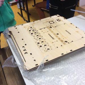 Uitkomst van 3D uitwisseling met de Mariaschool uit Eelde paterswolde.